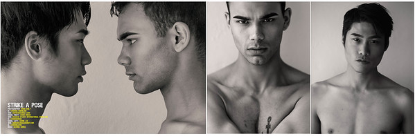 XPRESSIONS Magazine's Special Edition Men's Issue Cedric Lee & Ownen Unruh