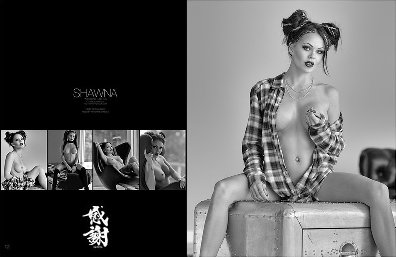 Kansha Magazine -  Chapter two - Shawna Bates - Mansion