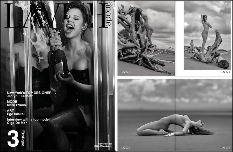 PUBLISHED in Lavish Magazine #3 Tanya Trip Iona Collection