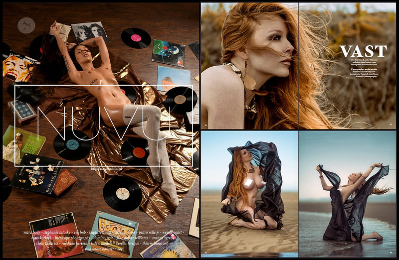 NUVU Magazine| Book 5 | Tina-Louise | Iona COllection 02.2017
