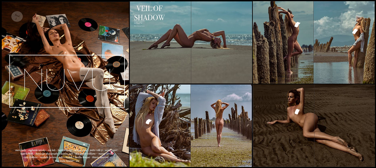 NUVU Magazine| Book 5 |  Stephanie Tatosky | Iona Collection | 02.2017