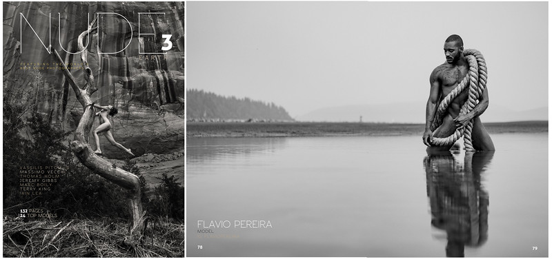 NUDE Magazine| Issue 3 | Flavio Pereira | Aqua Collection | 07.2017