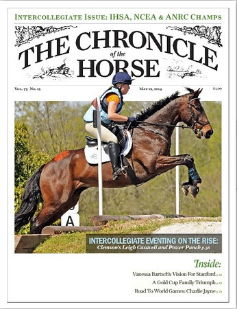 Chronicle of the Horse Cover May 19, 2014