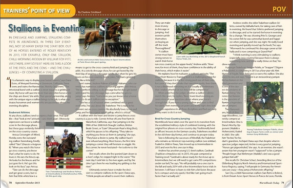 Warmbloods Today Sept-Oct 2013