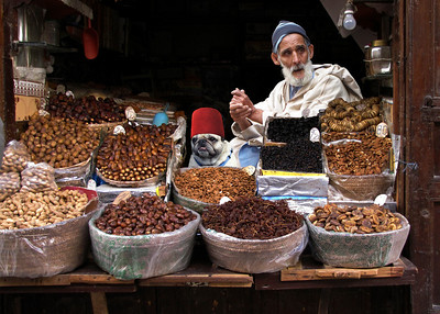 FIG MERCHANTS - FEZ, MOROCCO