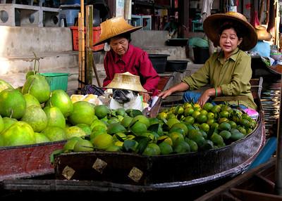 FLOATING MARKET LADIES - BANGKOK, THAILAND