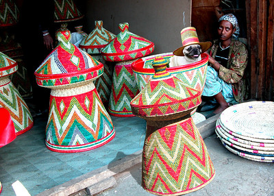 BASKET WEAVERS - ADDIS ABABA, ETHIOPIA