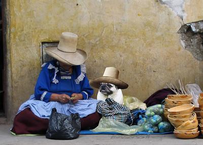 STREET MERCHANTS - CAJAMARCA, PERU