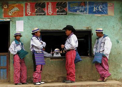MAYAN MEN - TODOS SANTOS, GUATEMALA