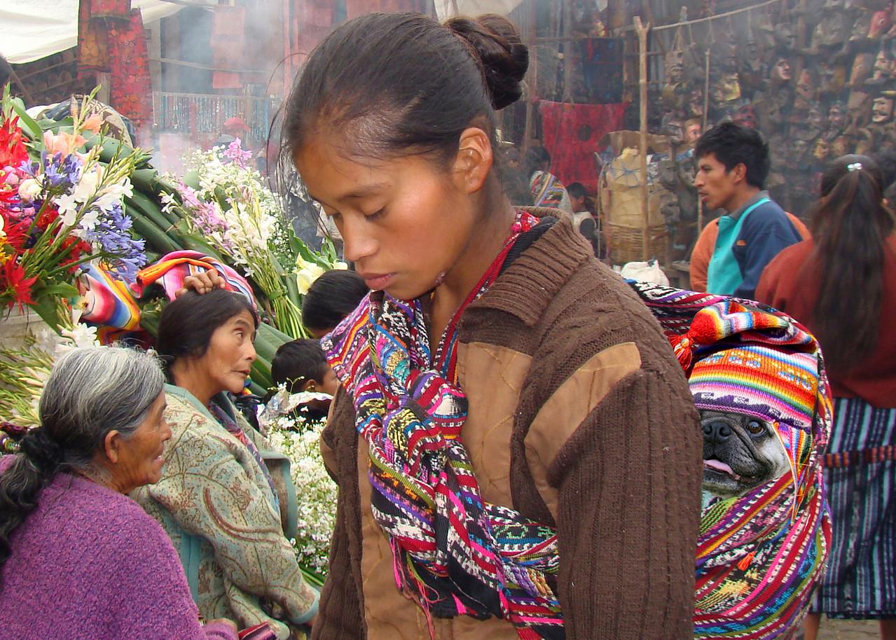 MAYAN BABY - CHICHICASTENANGO, GUATEMALA
