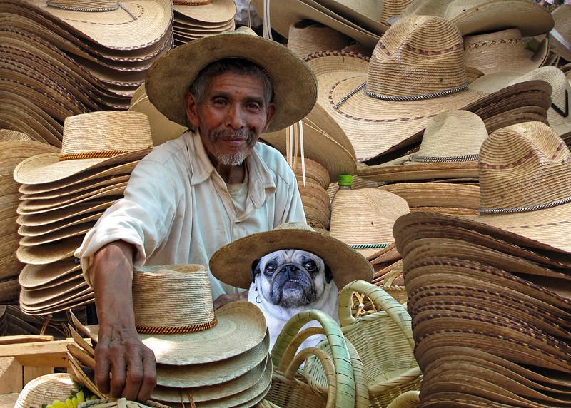 SOMBRERO SELLERS - MORELIA, MEXICO