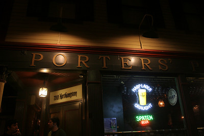 Porters Pub, Easton. W/ POST JUNCTION + STOMP!