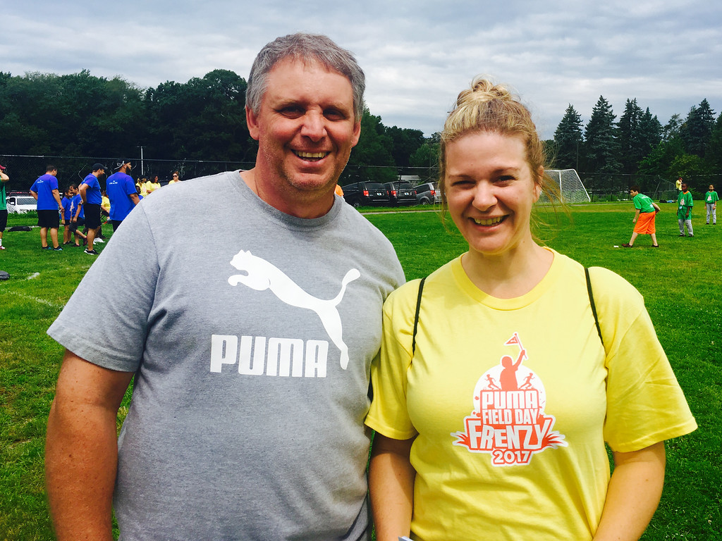 . PUMA co-Chair Scott Verrier of Holden and Nicole Barrasso of Tewksbury