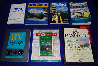 I've been hunting for the perfect folding trailer reference manual.  It turns out that there is only one book that I could find that was written specifically for folding trailers. So my challenge was to see how much folding trailer material was included in each of the RV books I could find. For more details on my search see my blogs on  April 18 and 24 at  http://www.campercommunity.com/blogs/he_ruide