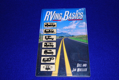 "RVing Basics by Bill and Jan Moeller, 213 pages, $14.95 . Score 22.  This book did a fair job addressing the topics I was interested.  However, there were many cases where I had to look in different sections.  For example, water regulators was not covered in the water systems but later on in ""Selecting a camp ground and using hook ups.  This was the only book that addressed replacing a tire, and repacking bearings.  Although I was not looking for this it was one of two books that  had floor diagrams of different RV's."