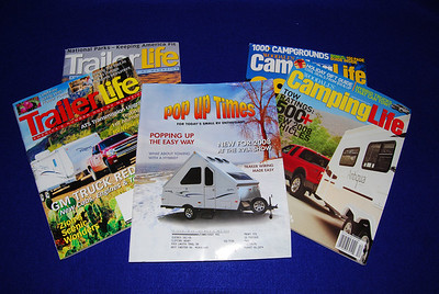 I've been searching for a magazine that covered folding trailers.