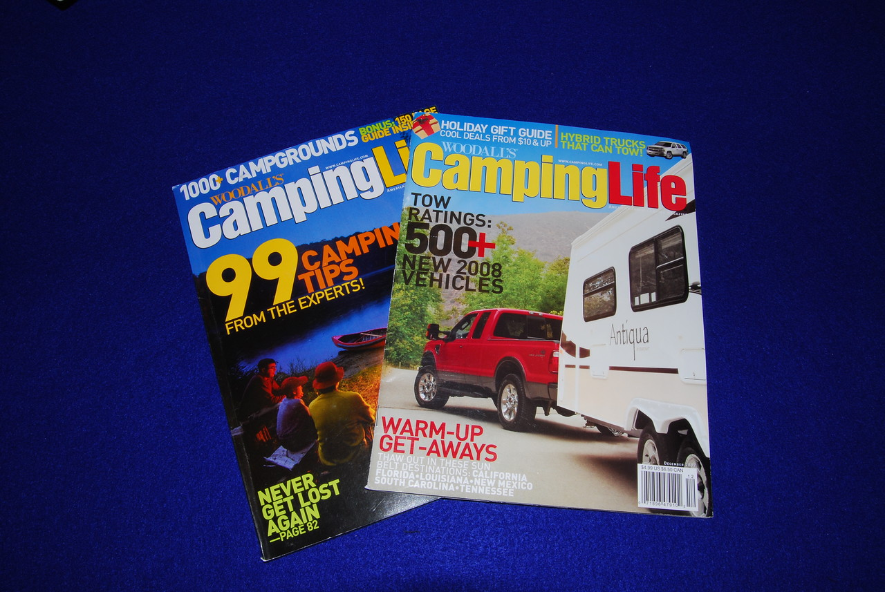 Camping life was better and I've found some gems like the tow ratings.