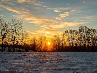 Christmas Sunrise