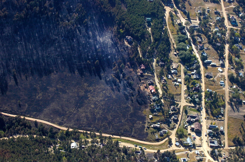 FOURMILE FIRE AERIALS GOLD HILL
