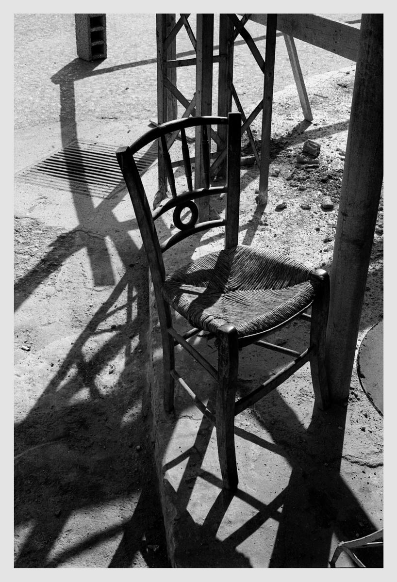 Chair Ierapetra, Crete 1975