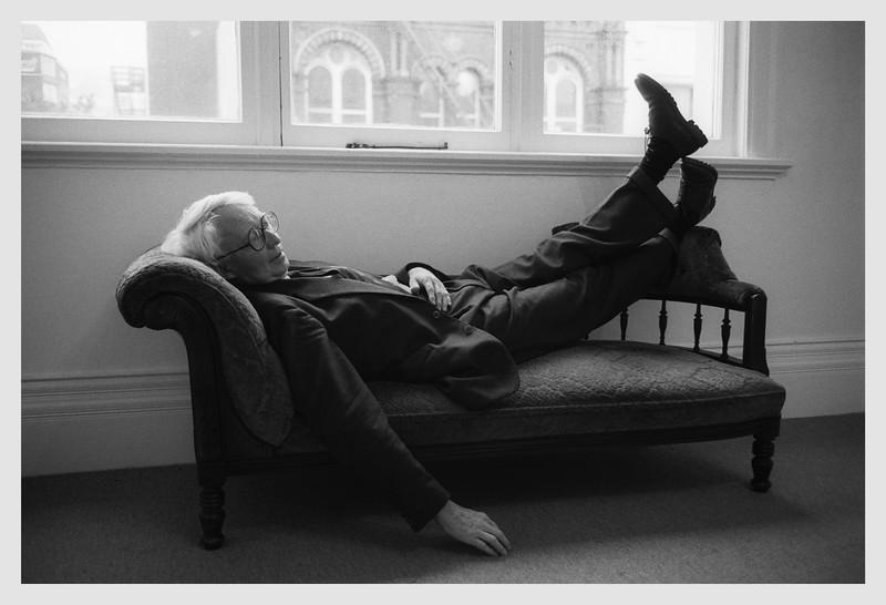Portrait of Peter McLeavey  Wellington 1999