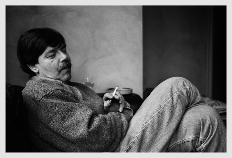 Portrait of Peter Turner, Wellington 2003