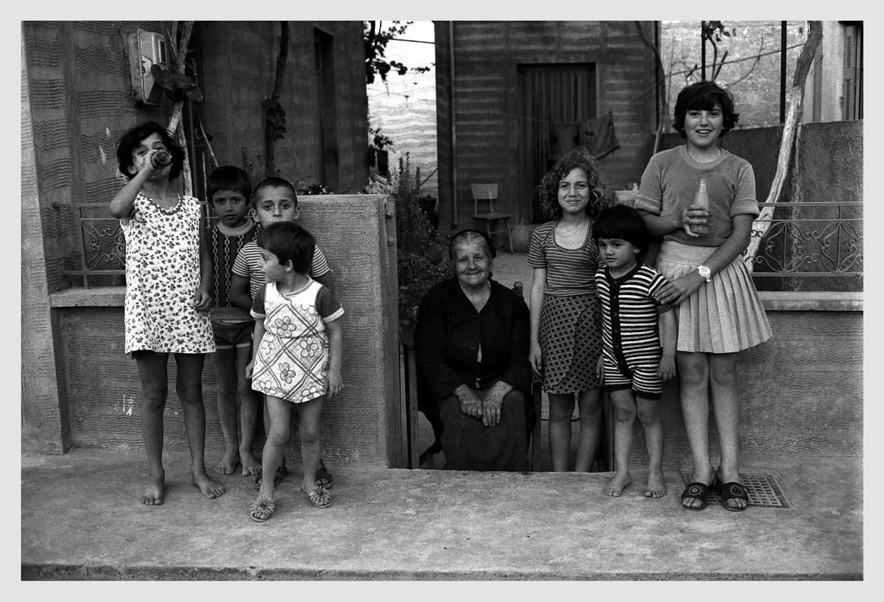 Family Group Ierapetra, Crete 1975