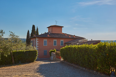 PV 111 - SAN CASCIANO V.P. - Historical Villa Portion with Pool