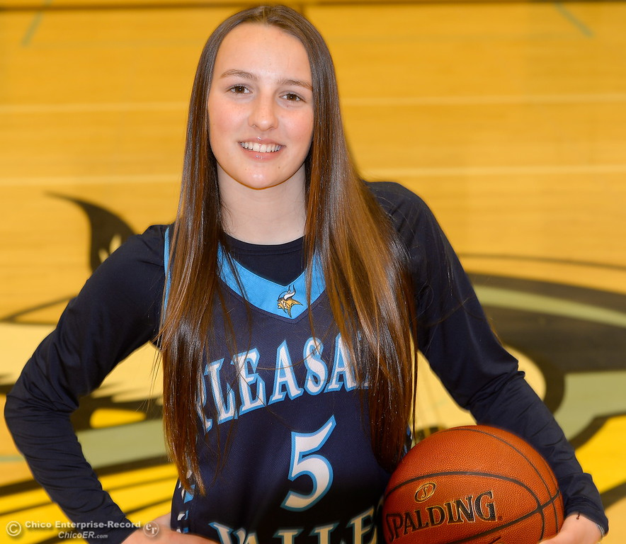 . Pleasant Valley High School basketball Chloe Mayer Wednesday March 21, 2018.  (Bill Husa -- Enterprise-Record)