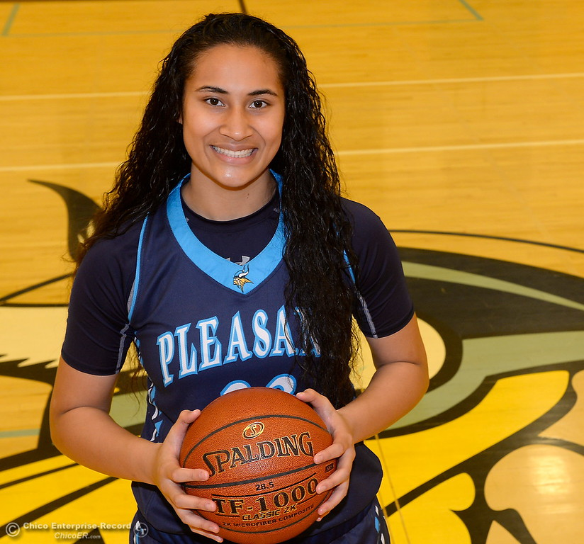. Pleasant Valley High School girls basketball player Sirena Tuitele Wednesday March 21, 2018.  (Bill Husa -- Enterprise-Record)