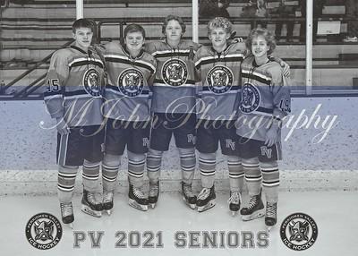 #1 Seniors logoB&W