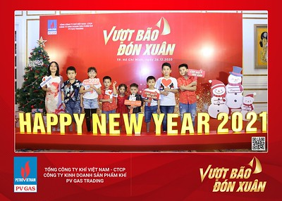 PVGAS | Year End Party 2020 instant print photo booth @ Park Hyatt Saigon | Chụp hình in ảnh lấy liền Tất niên 2020 tại TP Hồ Chí Minh | WefieBox Photobooth Vietnam