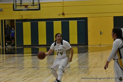 PVHS Girls Basketball JV vs HHS