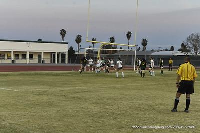 PVHS Girls Soccer vs HHS  2-15-2015