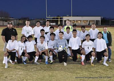 PVHS Men's Soccer JV vs HHS