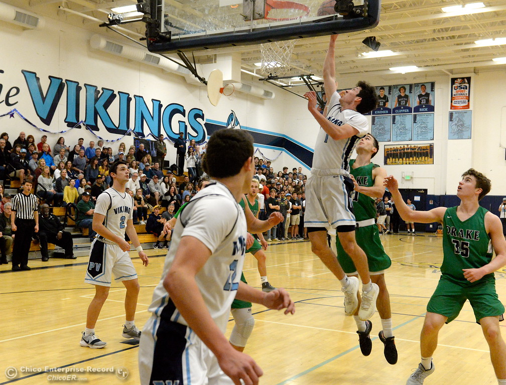 . during PVHS vs ----- basketball at Pleasant Valley High School in Chico, Calif. Wed. March 7, 2018. (Bill Husa -- Enterprise-Record)