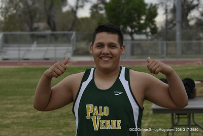 PVHS Track meet vs Central HS 2018