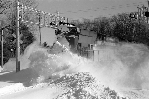 2005 opening the line in Holden after the Blizzard of '78 – Al Arnold photo