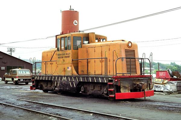 Moshassuck Valley #9 – line purchased in 1981 – Al Arnold photo
