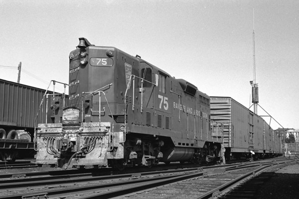 B&A 75 leased power 1976 – Al Arnold photo