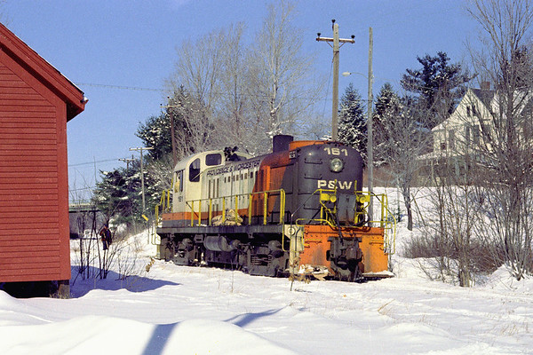 P&W 161 clearing the line in Holden – 1974 - Al Arnold photo
