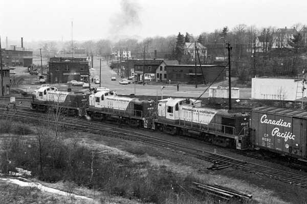 First revenue run to Gardner, MA – 1974 - Al Arnold photo