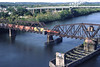 The Middletown, CT swing bridge 1998 – Bob Arnold photo