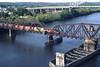 The Middletown, CT swing bridge 1998 – Bob Arnold photo