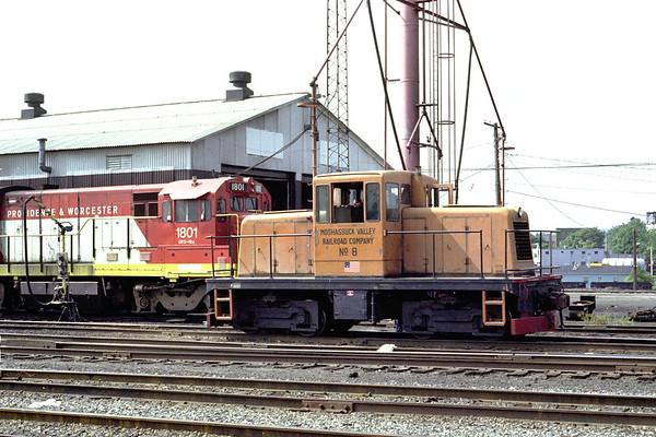 Moshassuck Valley #8 – line purchased in 1981 – Al Arnold photo