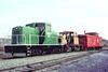 Warwick Railroad 106 – line purchased in 1981 – Al Arnold photo