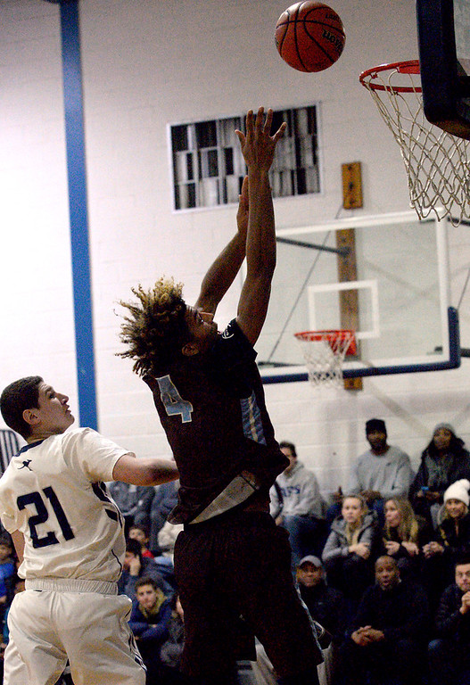 . (Bob Raines--Digital First Media)  Westtown at Abington Friends boys basketball Jan. 5, 2018.
