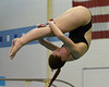 Bob Raines--Digital First Media  //<br /> Sarah Stim (Central Bucks West) competes in the PIAA District One Girls Diving Championship Feb. 25, 2017.