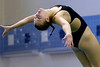 Bob Raines--Digital First Media<br /> Shannon Reape (Upper Dublin) competes in the PIAA District One Girls Diving Championship Feb. 25, 2017.
