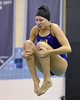 Bob Raines--Digital First Media<br /> Charlotte Whipple (Mount St Joseph) competes in the PIAA District One Girls Diving Championship Feb. 25, 2017.